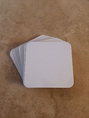 "50ea Dye Sublimation Aluminum Square Blanks 4""x4"""