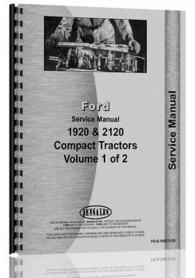 Ford 1920 2120 tractor service manual 9399 picclick ford 1920 2120 tractor service manual fandeluxe Choice Image