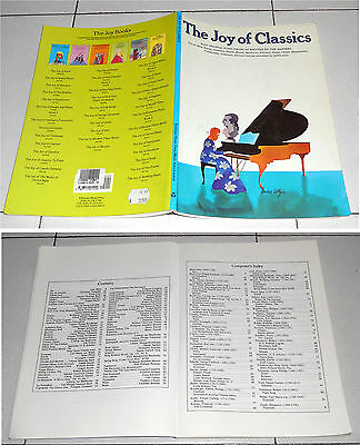Spartiti THE JOY OF CLASSICS Pianoforte PIANO Songbook Sheet music
