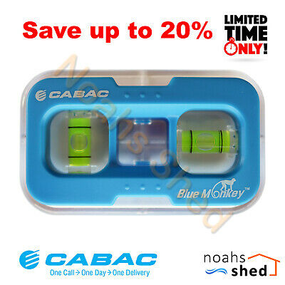 CABAC Blue Monkey Powerpoint GPO Wall Plate Template Spirit Level Stencil Jig