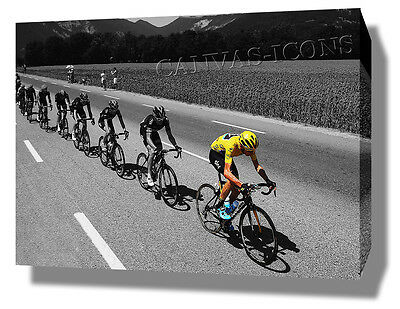 Chris Froome Canvas Print Poster Photo 2015 Tour De France Cycling Wall Art