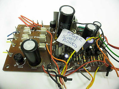 Kenwood KX-830 Main Power Supply Board - Vintage Japan Cassette Deck Parts