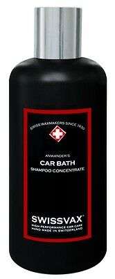 Swissvax Car Bath The Ultimate Shampoo Concentrate 250 ml