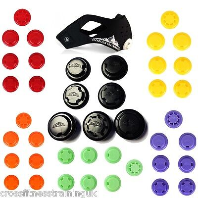 Elevation Training Mask 2.0 Resistance Valves Various Colour