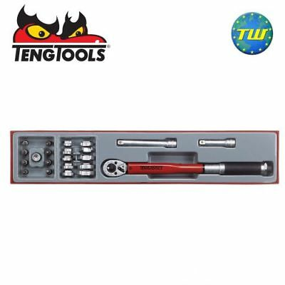 """Teng 22pc 3/8"""" Torque & Crow Foot Wrench Set TTX3892 - Tool Control System"""