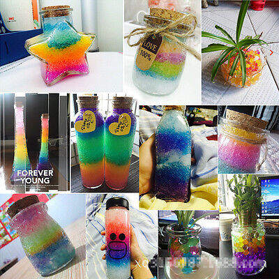 1000× Magical Water Plant Flower Jelly Crystal Soil Mud Hydro Pearls Beads Balls