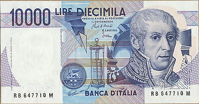 ITALY 1984 10000 Lire Note 112a UNC