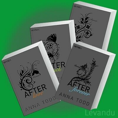 AFTER FOREVER + LOVE + TRUTH + PASSION | ANNA TODD | Band 1+2+3+4 Roman-Reihe