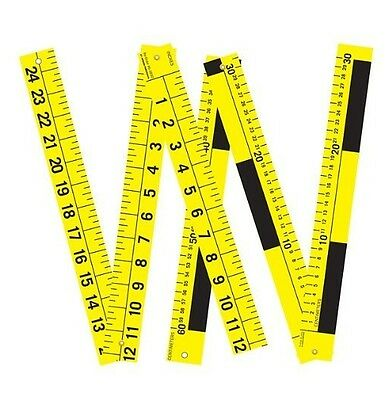 New Authentic Armor Forensics Three Part Folding Scale Metric Units 6-3835