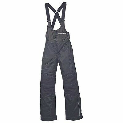 Women's Yamaha Trail Snowmobile Adventure Bib - Snow Pants - SMW-12BAD-BK