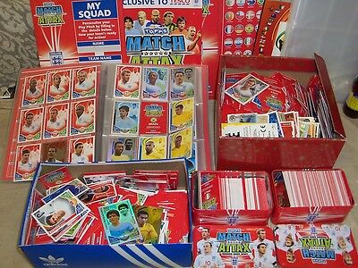 Trading cards MATCH ATTACK  2000+ cards 5 kg weight INTERNATIONAL