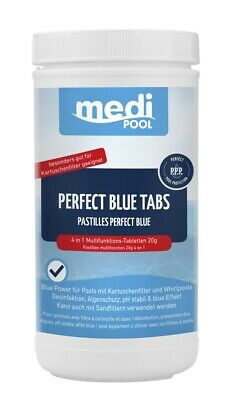 Chlortabletten, Perfect Blue Tabs 20g, 1 KG mediPOOL