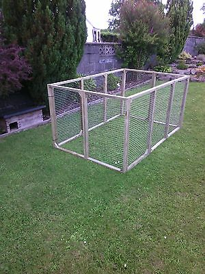 8 aviary panels for chicken kennel run ducklings rabbits guinea cat dog pets