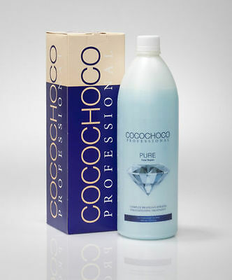 ❤︎ COCOCHOCO PURE Brazilian Blow Dry Keratin Straightening Treatment 1000ml KIT