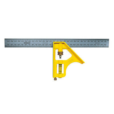 STANLEY Combination Square 300mm Stainless steel 46-143