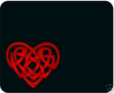Celtic Heart - Art Mouse Pad -Free Personalizing!