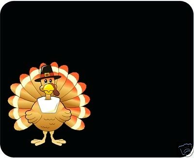 Thanksgiving Turkey Mouse Pad - Free Personalizing! Cute!