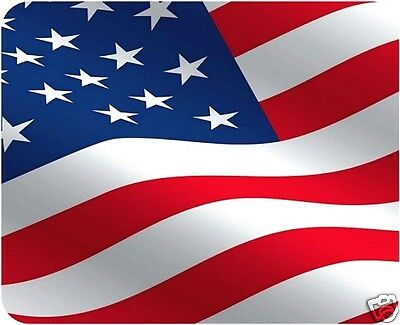 US Flag Mouse Pad - Free Personalizing!