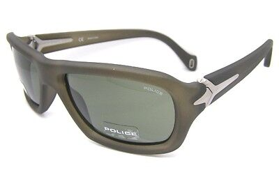 Police Superbe Lunettes de Soleil Cool S1709 7RD Vert pour Hommes Yoshi  Gohara caa3a5257a58