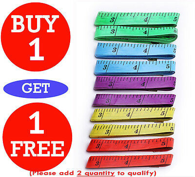 """1.5M 60""""Flat Tape Measure for Tailor Sewing Cloth Body Measuring Ruler"""