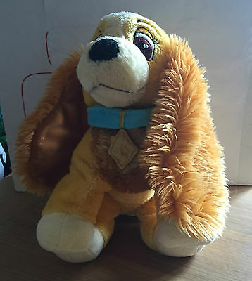 "Disney Store Exclusive 13"" Lady & The Tramp ""lady"" Plush Toy!"