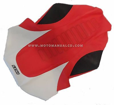 Seat Cover Ultragrip Yamaha Banshee Red,white & Black,gripper Excellent Quality!