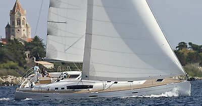 Grand Voile Oceanis 54 Full Batten Hydranet Mat Enrouleur Incidences Destockage