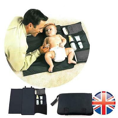 *UK Seller* Portable Kids Baby Infant waterproof Changing Mat Diapers Nappy Bag
