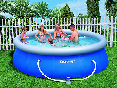 """BESTWAY INFLATABLE FAST SET FAMILY POOL PACKAGE - 12'x36"""" (57263)"""
