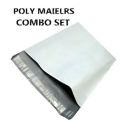 100 (50 6X9+50 9X12 ) Poly Mailers Envelopes Shipping Bag Self Seal Plastic Bags