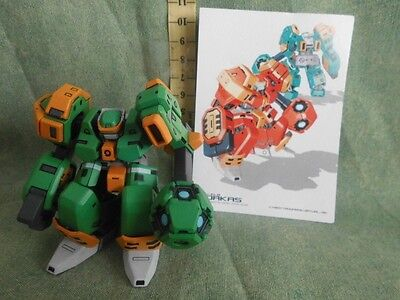 Dorkas Gashapon Action Figure  Robot Anime Model