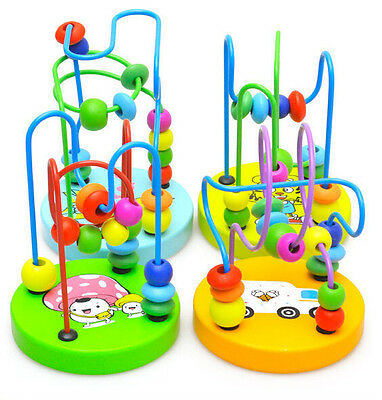 Kids Baby Beads Moving Construction Creative Building Blocks Educational Toys