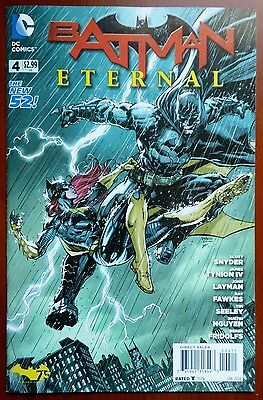 BATMAN ETERNAL #4 - 1st Printing Comic Book - The New 52! JUN 2014 DC Comics