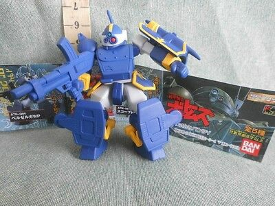 Gundam Blu Gashapon Action Figure  Robot Anime Model