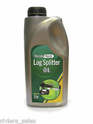 Handy Log Splitter Oil High Viscosity Hydraulic Oil 1Ltr Suits Petrol & Electric