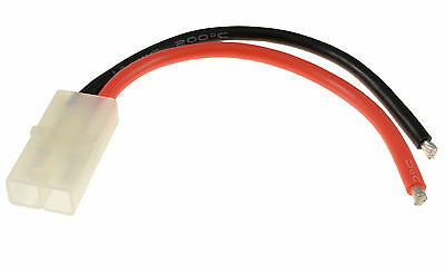 RC Female Tamiya Battery Connector 14awg 10cm Wire
