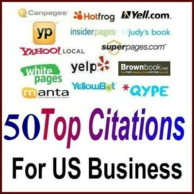 40 TOP Citations  for USA business Optimize your Google Place Local SEO
