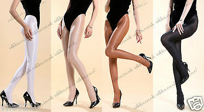 70 DENIER HIGH GLOSSY OPAQUE SHAPED DANCE TIGHTS Size S/M