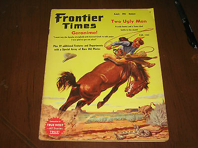 Fall 1962 Frontier Times Magazine-Taylor Oughton