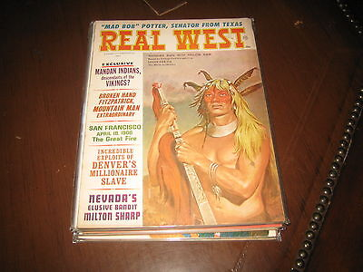 May 1966 Real West Magazine-Earl Norem