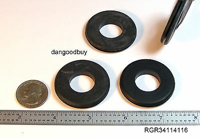 "5x Fastcap 63MM 2-1//2/"" Round Black Desk Table Hole Cover Dually Grommet"