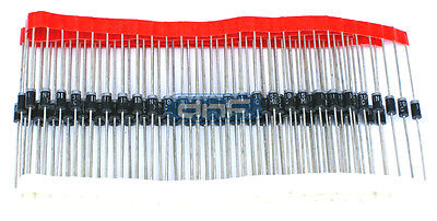 (100 PACK) Diode Rectifier 1.5 AMP IN5391 - FREE SAME DAY SHIPPING!