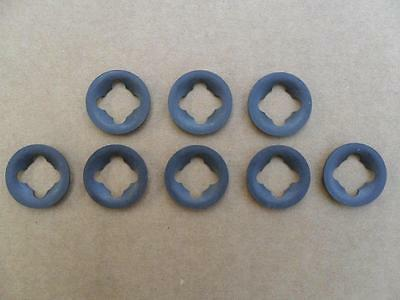 NOS 1965-1970 FORD MUSTANG DISC BRAKE GREASE SEAL RETAINERS C8AZ-1190-A 2PCS