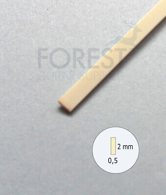 Guitar Binding material Ivory ABS plastic 2 x 0.5mm