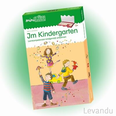 WESTERMANN mini LÜK Set - Im Kindergarten (4520) - NEU