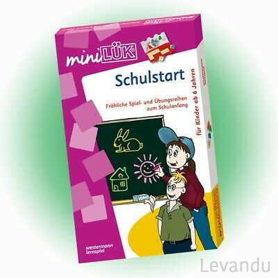 WESTERMANN mini LÜK Set - Schulstart (240) - NEU