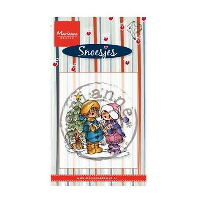 Marianne Design Clear Stamp - Singing Snoesjes HM9474