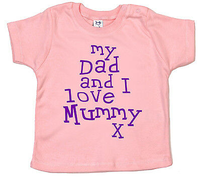 Baby T-shirt Tees for Boys Me and My Mummy Love Widnes Vikings Girls