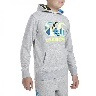 Sweat Hoody Oth Junior Canterbury KIDS Taille 10 ans XS Neuf Gris