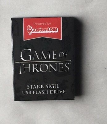 Loot Crate Exclusive Game Of Thrones Usb Flash Drive 4 Gb Of Memory House Stark